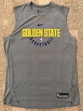Nike Dry Mens Basketball Jersey NBA Golden State Warriors Gray Sz LT Large Tall