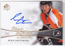 2011 11-12 SP Authentic Sign of the Times #SOTCU Sean Couturier