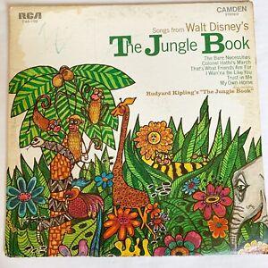 Walt Disney's The Jungle Book 1968 Vinyl Record RCA
