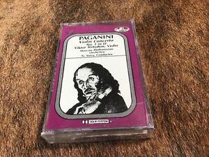 Paganini Violin Concerto ~ Cassette Tape ~ Tretyakov ~ Allegro ~ Sealed