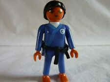 PLAYMOBIL personnage sport loisirs vacances jeux olympiques terrain judokate n°1