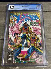 THE UNCANNY X-MEN #282 1991 Marvel Comics CGC 9.2 NM- White Pages