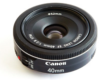 Canon EF 40mm f2.8 STM OBJECTIF