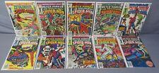 SPECTACULAR SPIDER-MAN #1 2 3 4 5 6 7 8 9 10 (Full Run 1-10) Marvel Comics 1976
