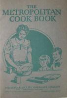 Metropolitan Cook Book Vintage Life Insurance Company Ad Pamphlet