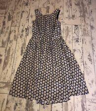 Warehouse Navy Floral Summer Dress Size 10 #