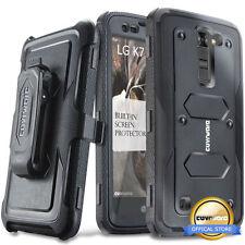 COVRWARE® [AEGIS] Full-Body Armor Holster Case w/ Screen For LG K7 / Tribute 5