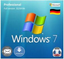 Windows 7 Professional OEM Product-Key 32/64 Bit SP1 multilingual full version