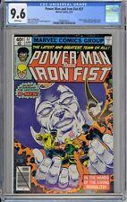 Power Man and Iron Fist #57 CGC 9.6 NM+ Wp 1979 Luke Cage & Danny Rand + X-Men