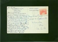 Japan 1934 Postcard to USA - Z2043