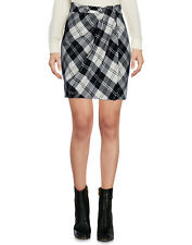 RRP€380 MOSCHINO CHEAP AND CHIC Wrap Skirt Size 38 / XS Virgin Wool Blend Tartan