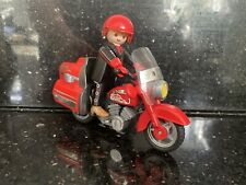 Playmobil Highway Motorcycle And Rider 3062