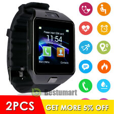 Waterproof Smart Wrist Watch Bluetooth Phone Mate Fit For IOS Android Samsung