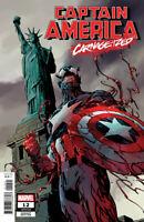 Captain America #12 Carnage-ized Variant (2019) Marvel Comics