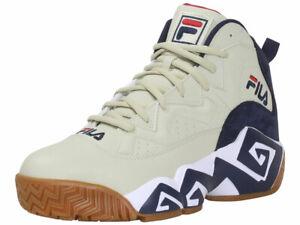 Fila Men's MB Sneakers High Top Fila Cream/White/Fila Navy
