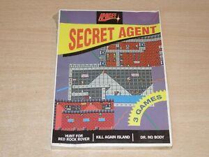 "MINT & SEALED !! Secret Agent by Apogee - 3.5"" Disc - Retrogames.co.uk"