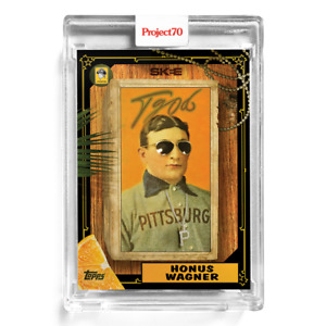 Topps Project 70 Card 172 - 1987 Honus Wagner by DJ Skee -Presale-