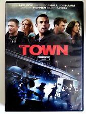 The Town (DVD, 2010) Ben Affleck, Rebecca Hall, Jon Hamm Movie Cops FBI fire arm