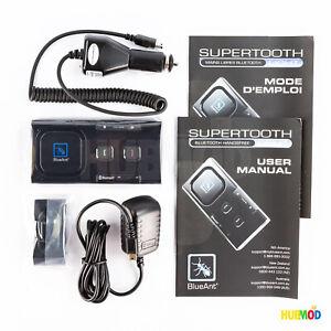Blueant Supertooth Light Bluetooth Car Vehicle Hands-Free Speaker-Phone BTSVBC3