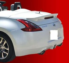 FITS NISSAN 370Z CONVERTIBLE 2010-2017 BOLT ON REAR SPOILER PAINTED (P)