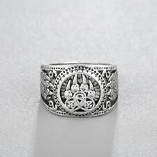 Men Rings Fashion Vintage Jewelry Bear Paw Slavic Ring Bear Paw Viking Jewelry