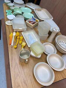 vintage tupperware job lot 3