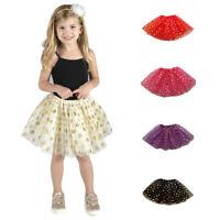 New Girls Kids Tutu Party Ballet Dance Wear Dress Skirt Pettiskirt Costume Lot C