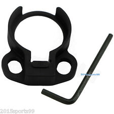 Ambidextrous buffer tube Adapter Clamp-on Single Point Rilfe Sling Attachment