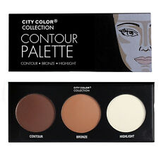 City Color Contour Effect Palette (F-0005) | Contour - Bronze - Highlight