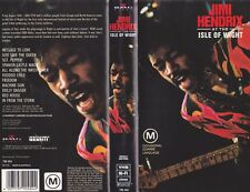 JIMI HENDRIX AT THE ISLE OF WIGHT   VIDEO  PAL VHS~ A RARE FIND