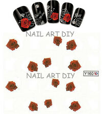 BUY 3 Get 1 FREE-adesivi unghie-Nail art water transfer stickers con fiori !!!