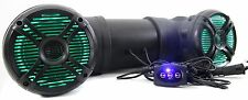 Q Power 500W Marine Bluetooth ATV Speaker System with LED Lights | QATV65BT-LED