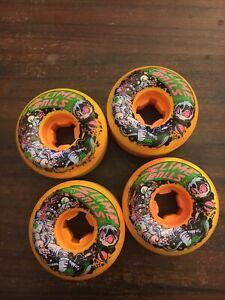 Santa Cruz Speed Balls 56mm Astros 99a Orange/Yellow Slime Balls