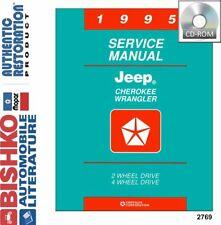 OEM Digital Repair Maintenance Shop Manual CD for Jeep Cherokee, Wrangler 1995
