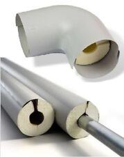 1m PUR Isolierschale mitKunststoffmantel Rohrisolierung Steinonorm 310