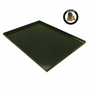 Replacement Black Metal Tray for 42 inch XL Dog Cage Crate 42 inches x 28 inches