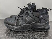 Nike Air Max 270 Bowfin Casual Triple Blk AJ7200-005) Men Size 10.5 NEW