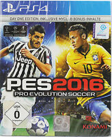 PES 2016 - Pro Evolution Soccer 2016 (Day One Edition) [PlayStation 4]