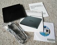 Dell Dw316 External USB Slim DVD RW Optical Drive, Media Suite Disk, Quick Guide