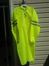 Reflective HI VIS Safety Raincoat, Knee-length, Northwest Airlines, X-Large NOS