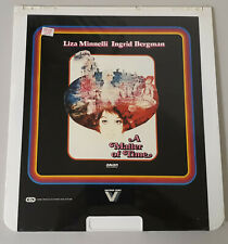 SEALED A Matter Of Time Vintage RCA Selectavision VideoDisc Video Disc Players