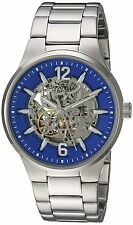 Bulova Mens Automatic Stainless Steel Casual Watch, Color:Silver-Toned Model:
