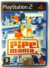PIPE MANIA Sony PS2 Playstation 2  Manuale e gioco in Italiano