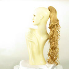 Hairpiece ponytail wavy light golden blonde 65 cm ref 10 lg26 peruk