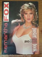 Samantha Fox 12x17 Poster Book 20 Tear Out Posters 1987