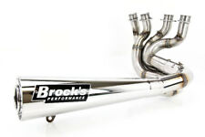 "06-11 ZX1400 ZX-14 Brock's Sidewinder 4-2-1 Full Exhaust - Stainless Steel 14"""