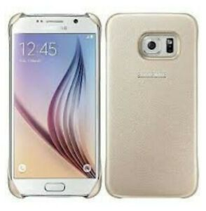 Samsung Protective Cover for Samsung Galaxy S6 Gold
