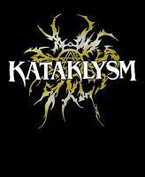 KATAKLSYM cd lgo GOLD LOGO TRIBAL Official SHIRT XXL 2X new