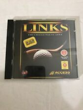 Links: The Challenge of Golf ~ PC CD Rom Video Game Vintage MS-DOS Ships N 24h