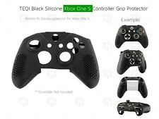 Xbox One S Black Silicone Shell Protector Grip Enhancer Protective Case Control
